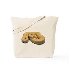 Burmese Python Snake Tote Bag