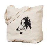 Willie nelson guitar Totes & Shopping Bags