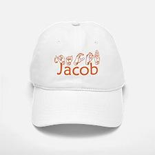 Jacob-orange Baseball Baseball Cap
