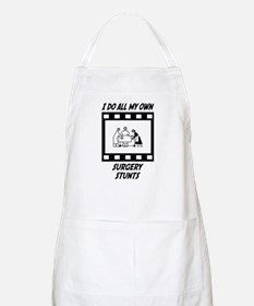 Surgery Stunts BBQ Apron