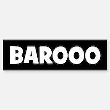 BAROOO Bumper Bumper Bumper Sticker