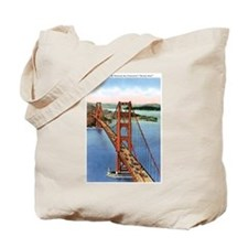 Golden Gate CA Tote Bag