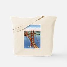 Golden Gate CA Tote Bag
