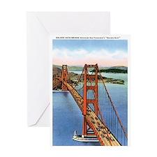 Golden Gate CA Greeting Card