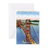 San francisco Greeting Cards (20 Pack)