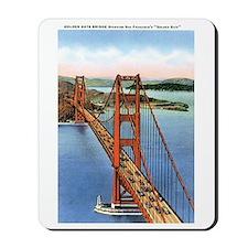 Golden Gate CA Mousepad