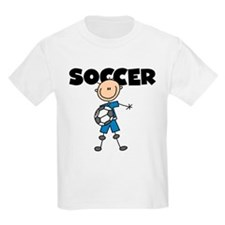 SOCCER Stick Figure T-Shirt