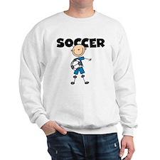 SOCCER Stick Figure Sweatshirt