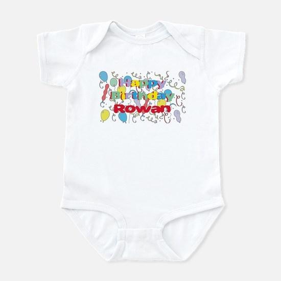 Happy Birthday Rowan Infant Bodysuit