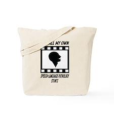Speech-Language Pathology Stunts Tote Bag