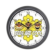 Bees are Cool Wall Clock