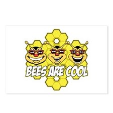 Bees are Cool Postcards (Package of 8)