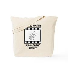 Sousaphone Stunts Tote Bag