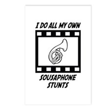 Sousaphone Stunts Postcards (Package of 8)