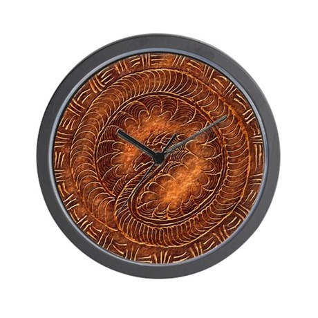 Helian mural wall clock by istaria for Clock wall mural