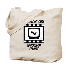 Sonogram Stunts Tote Bag