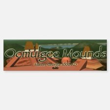 Ocmulgee Mounds Bumper Bumper Bumper Sticker