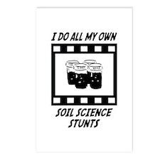 Soil Science Stunts Postcards (Package of 8)