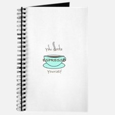 Espresso Yourself Journal