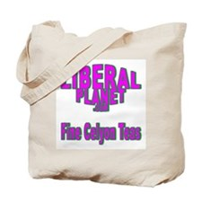 Liberal Planet Logo Tote Bag