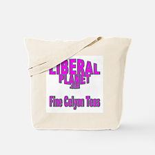 Liberal Planet Logo Tote Bag