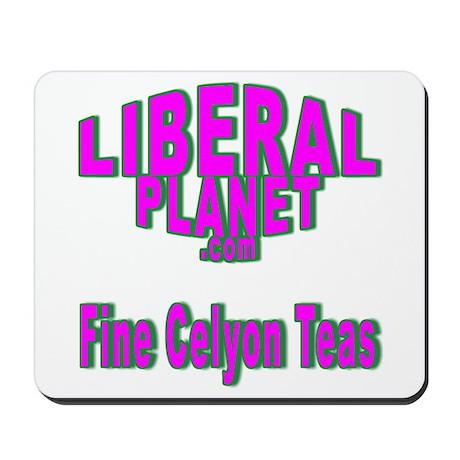 Liberal Planet Logo Mousepad