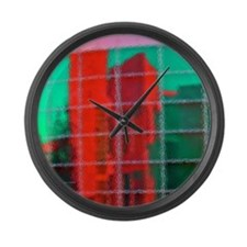 Reflections Large Wall Clock