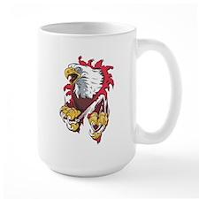 Ripped Eagle Mug