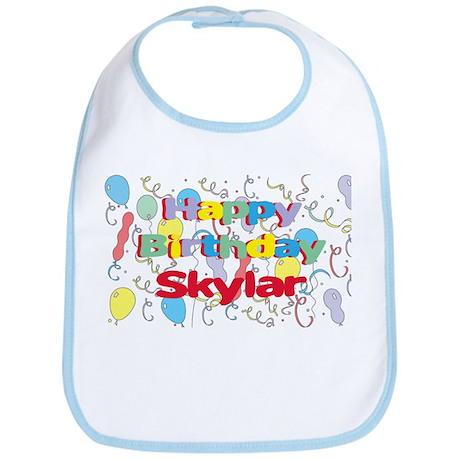Happy Birthday Skylar Bib