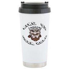 Cute King of cornhole Travel Mug