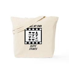 Slots Stunts Tote Bag