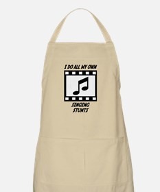 Singing Stunts BBQ Apron