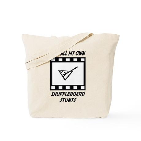 Shuffleboard Stunts Tote Bag