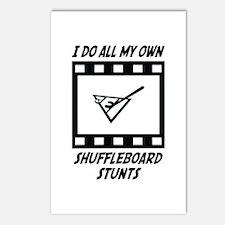 Shuffleboard Stunts Postcards (Package of 8)