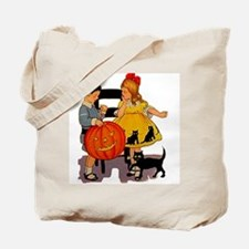 Halloween Party Kids Tote Bag