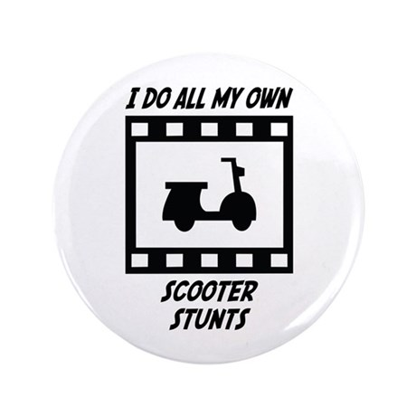 """Scooter Stunts 3.5"""" Button"""