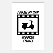 Scooter Stunts Postcards (Package of 8)