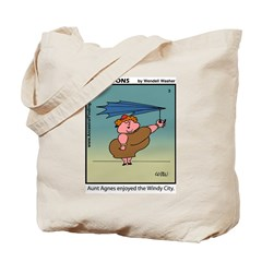 #3 Windy City Tote Bag