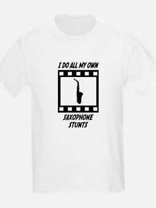 Saxophone Stunts T-Shirt
