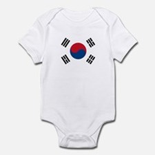 South Korean Flag Infant Bodysuit