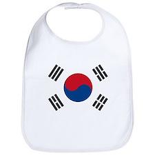 South Korean Flag Bib