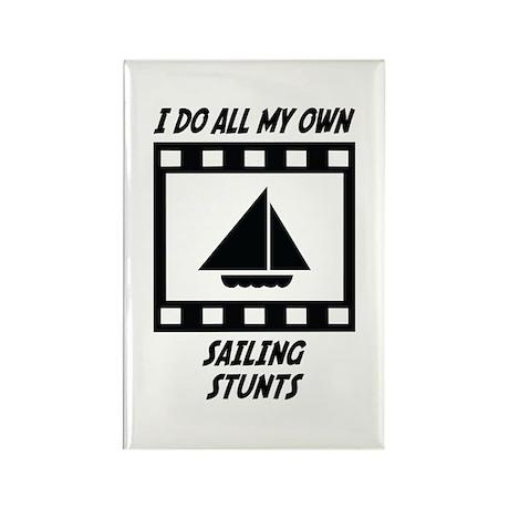 Sailing Stunts Rectangle Magnet