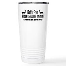 Dachshund Thermos Mug