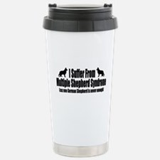 German Shepherd Dog Stainless Steel Travel Mug