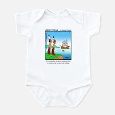 #4 Sunken land-bridge Infant Bodysuit