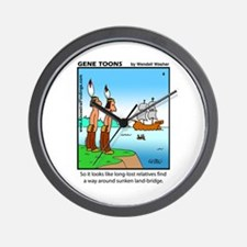 #4 Sunken land-bridge Wall Clock