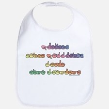 Pastel PREVENT NOISE POLLUTION Bib