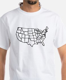 US Map Shirt