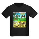 #5 Adam before and after Kids Dark T-Shirt