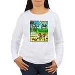 #5 Adam before and after Women's Long Sleeve T-Shi